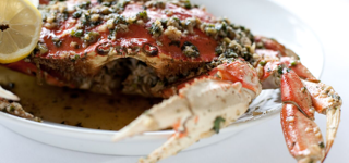 Whole Garlic & Butter Dungeness Crab
